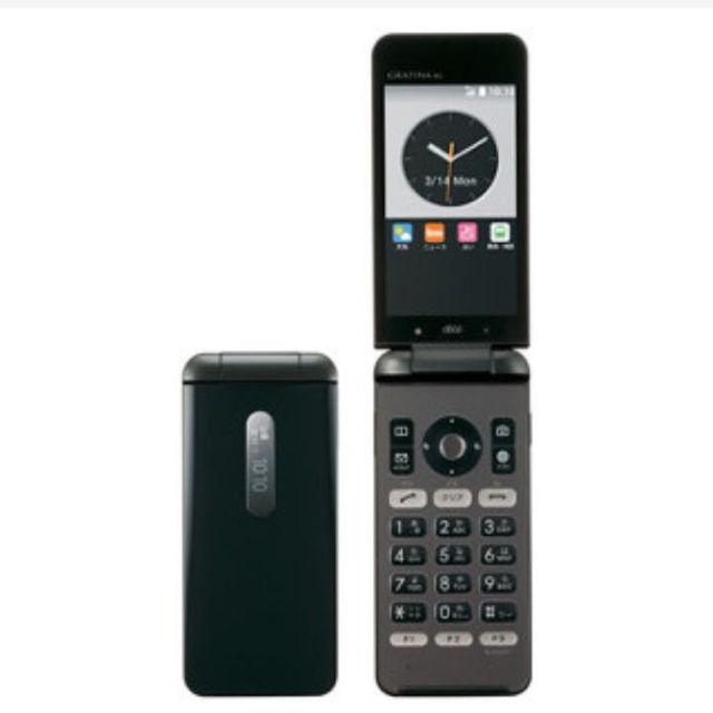 9ad00560d7 京セラ - GRATINA 4G 黒 新品 au KYF31 ガラホの通販 by ラキオレ's shop ...