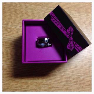 マークバイマークジェイコブス(MARC BY MARC JACOBS)のマークバイマークジェイコブス 指輪 黒(リング(指輪))