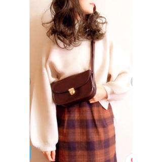ローリーズファーム(LOWRYS FARM)の【新品】ローリズファーム シャギータイトスカート(ミニスカート)