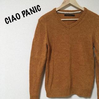 チャオパニック(Ciaopanic)のチャオパニック セーター 茶系オレンジ(ニット/セーター)