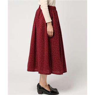 フィグロンドン(fig London)の大幅最終値下げ fig Londn tinyプリントスカート(ひざ丈スカート)