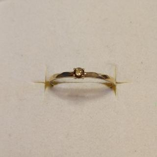 ADA K10YG ブラウンダイヤ リング(リング(指輪))