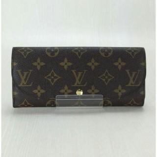 ルイヴィトン(LOUIS VUITTON)のルイヴィトン長財布❤ポルトフォイユルイーズ❤モノグラム❤茶色ブラウン❤男女兼用(財布)