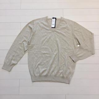 ケンアンドユータ(KEN&YUTA)のメンズ ニット ウール100 KEN collection サイズL(ニット/セーター)