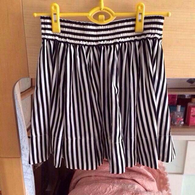 LOWRYS FARM(ローリーズファーム)のLOWRYS♡ストライプ柄スカート レディースのスカート(ミニスカート)の商品写真