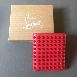 クリスチャンルブタン(Christian Louboutin)の国内正規 Christian Louboutin ルブタン スパイク 折財布(折り財布)