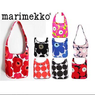 マリメッコ(marimekko)のakiさま専用 マリメッコ ネイビー×パープル(ショルダーバッグ)