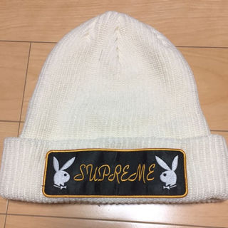 490c9c51820 シュプリーム(Supreme)のSupreme Playboy Patch Beanie 16AW ニット帽(その他)