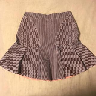 ステラマッカートニー(Stella McCartney)のステラマッカートニー  フレア マーメイドスカート(ミニスカート)