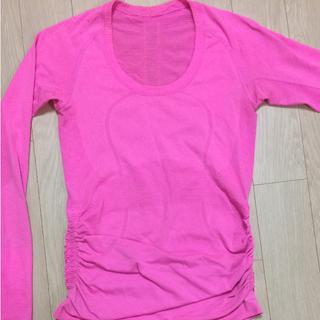 ルルレモン(lululemon)のルルレモン ロングTシャツ サイズ4(ヨガ)