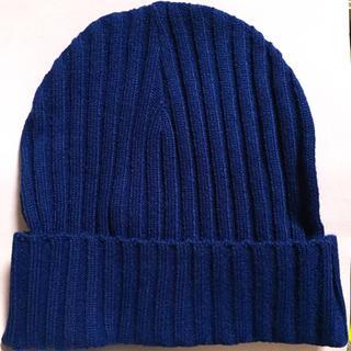 ジエンポリアム(THE EMPORIUM)のTHE EMPORIUM ニット帽【新品未使用】(ニット帽/ビーニー)