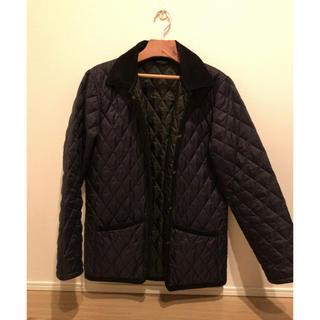 ムジルシリョウヒン(MUJI (無印良品))のキルティングジャケット(ブルゾン)