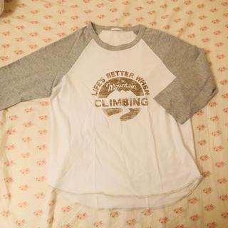 ジーユー(GU)の新品 ラグラン 七分袖(Tシャツ(長袖/七分))