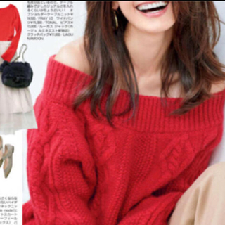 フレイアイディー(FRAY I.D)のフレイI.D. ニット ベージュのセーター新品(ニット/セーター)