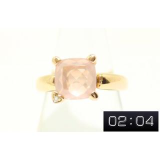 ポンテヴェキオ(PonteVecchio)のポンテヴェッキオダイヤローズクオーツリングK18PG新品ハリーウィンストン(リング(指輪))