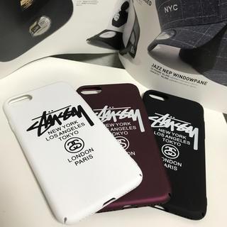 ステューシー(STUSSY)の【注目!新品】 STUSSY iPhone7/8 ハードケース(iPhoneケース)