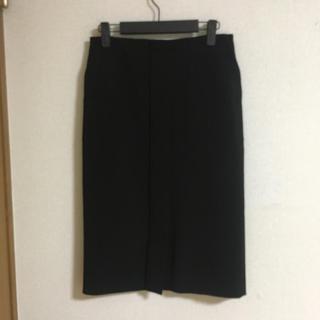 デミルクスビームス(Demi-Luxe BEAMS)のデミルクスビームス 三尋木さんコラボ スカート 36 黒 検索:ドゥーズィエム(ひざ丈スカート)