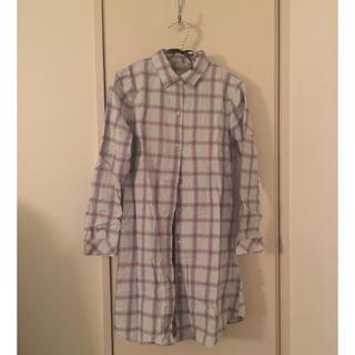 ジーユー(GU)のGU コットンシャツパジャマ(パジャマ)