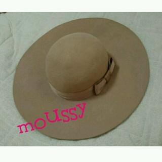マウジー(moussy)のmoussy💗女優帽(ハット)