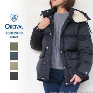 オーシバル(ORCIVAL)の新品タグつき 専用です。オーチバル ナイロンタフタフードダウン1ジャケット(ダウンジャケット)