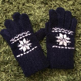 ムジルシリョウヒン(MUJI (無印良品))の無印良品 キッズ 手袋(手袋)