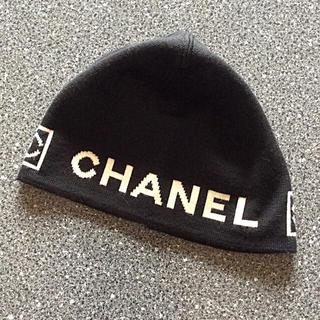 シャネル(CHANEL)の美品!希少!正規品!シャネル♡スポーツライン♡ニット帽(ニット帽/ビーニー)