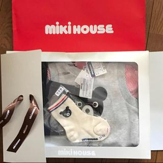 ミキハウス(mikihouse)のmikihouse ミキハウス 男の子洋服セット(シャツ/カットソー)