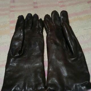 コーチ(COACH)のレザーグローブ(手袋)