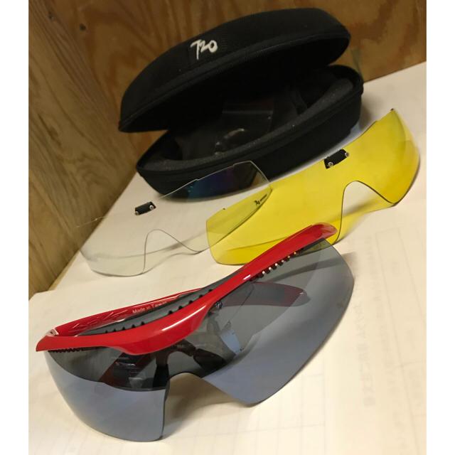 スポーツサングラス 【720アーマー】Spike レッド B336B3-6-P スポーツ/アウトドアの自転車(ウエア)の商品写真