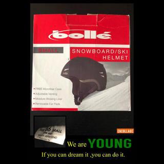 ボレー(bolle)のbolle SNOWBOARD/SKI ヘルメット Sサイズ(56cm)(アクセサリー)