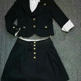 バーバリーブルーレーベル(BURBERRY BLUE LABEL)のバーバリーブルーレーベル 上下セット スカートスーツー 美品(スーツ)