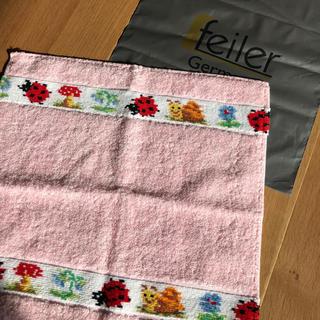 フェイラー(FEILER)のお値下げ 新品・未使用 Feiler フェイラー タオル地ハンカチ(ハンカチ)