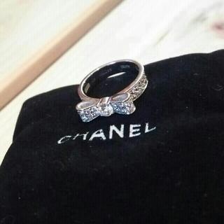 シャネル(CHANEL)のリーリー様専用シャネル 正規店購入  リボン リング(リング(指輪))