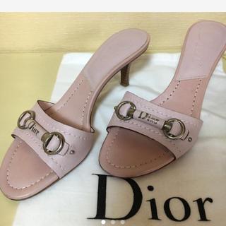 クリスチャンディオール(Christian Dior)のディオール ミュール(ミュール)