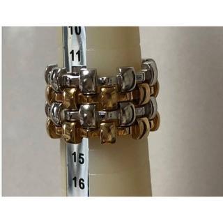シャネル(CHANEL)の追加画像 CHANEL 本物18KYG&WG 指輪4個セット 10通り組み合せ(リング(指輪))