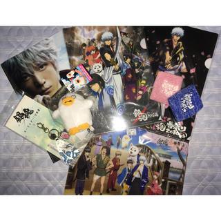 【非売品・限定】『銀魂』イベント、映画公開記念グッズ7種(クリアファイル)