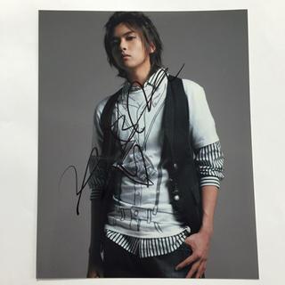 スーパージュニア(SUPER JUNIOR)の韓国★Super Junior スーパージュニア 直筆サイン入り写真 リョウクa(ミュージシャン)