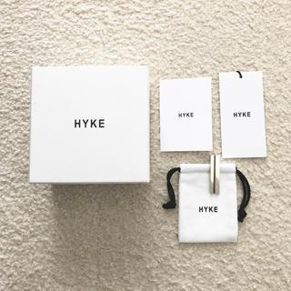 ハイク(HYKE)の新品 HYKE LONG ピアス ハイク シルバー(ピアス)