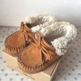 ファミリア(familiar)のPOMPKINS キッズ 靴 15.0 cm(ブーツ)