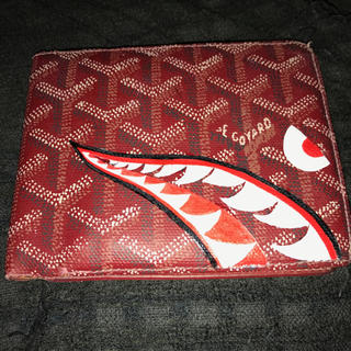 ゴヤール(GOYARD)のゴヤール カスタムペイント(折り財布)