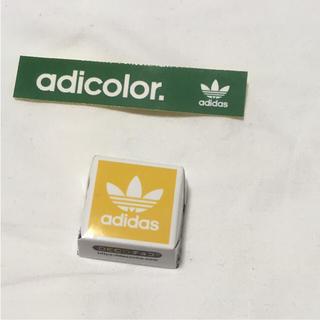 アディダス(adidas)のアディダス adidas チロルチョコ ステッカー 非売品(ノベルティグッズ)
