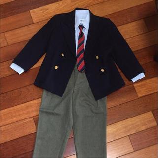 b70b575919030 アルマーニ ジュニア(ARMANI JUNIOR)の子どもスーツ☆三越 LITTLE GENT 金ボタン&ARMANI