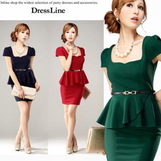 デイジーストア(dazzy store)のペプラムドレス DRESSLINE(ナイトドレス)