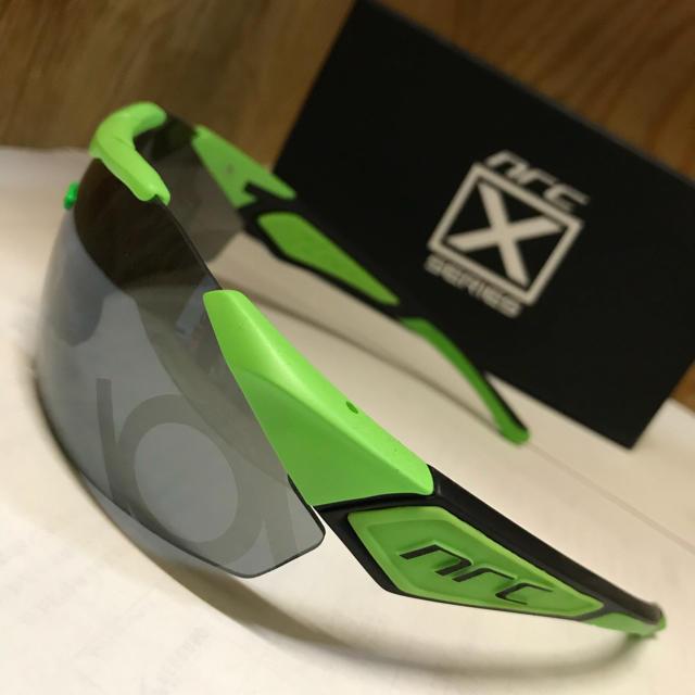 スポーツサングラス【nrc】X1.HAL スポーツ/アウトドアの自転車(ウエア)の商品写真