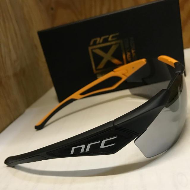 スポーツサングラス【nrc】X1.SLD スポーツ/アウトドアの自転車(ウエア)の商品写真