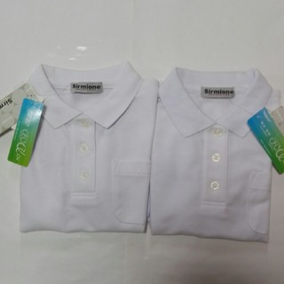 シマムラ(しまむら)の女の子ポロシャツ120半袖 2枚(Tシャツ/カットソー)