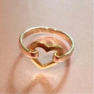 ティファニー(Tiffany & Co.)のティファニー ハート リング 指輪(リング(指輪))