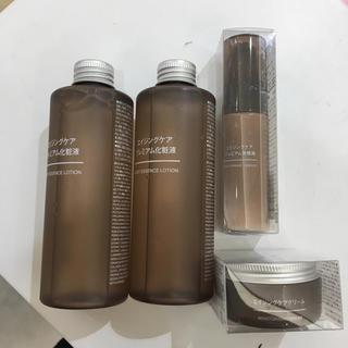 ムジルシリョウヒン(MUJI (無印良品))の新品 無印良品 スキンケアセット 4点(化粧水 / ローション)