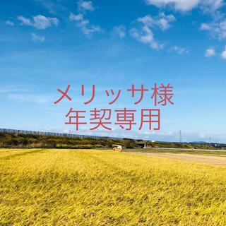 【メリッサ様 年契専用】平成30年度ひとめぼれ精米5kg×2×6(米/穀物)