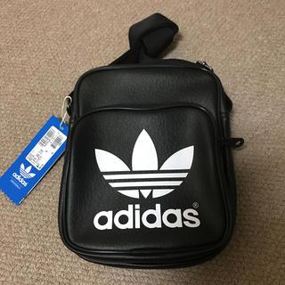 アディダス(adidas)の未使用★アディダス オリジナルス★ショルダーbag★黒(ショルダーバッグ)